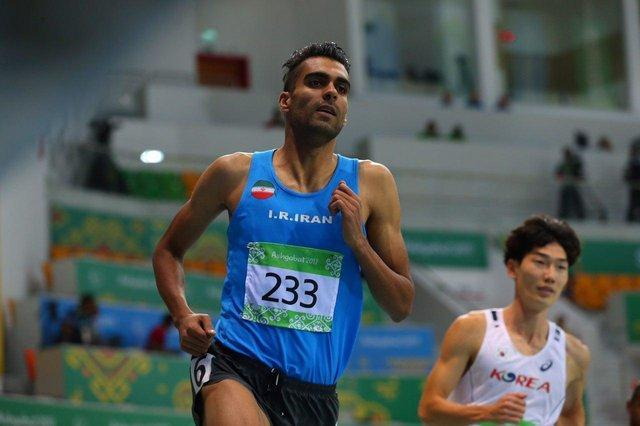 صعود مرادی به فینال دوی 800 متر بازی های آسیایی