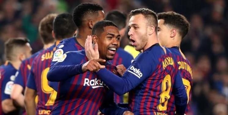 جریمه بازیکن بارسلونا به دلیل حضور در پاریس