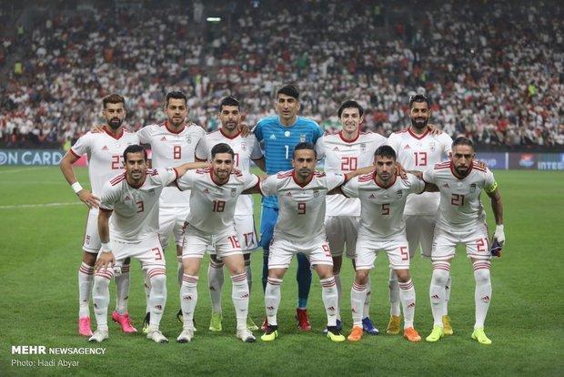 رنکینگ جهانی فیفا اعلام شد، صعود ایران با ویلموتس به رده بیستم