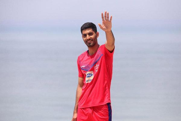 حضور محمد انصاری در باشگاه پرسپولیس