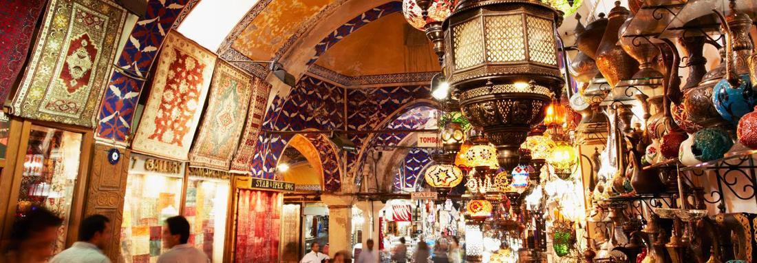 تبعات بارندگی شدید در ترکیه ، بازار 500 ساله استانبول دچار آب گرفتگی شد