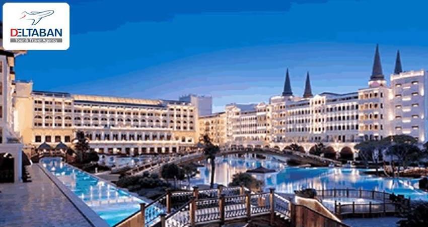 رزرو آنلاین هتل در تور مسافرتی
