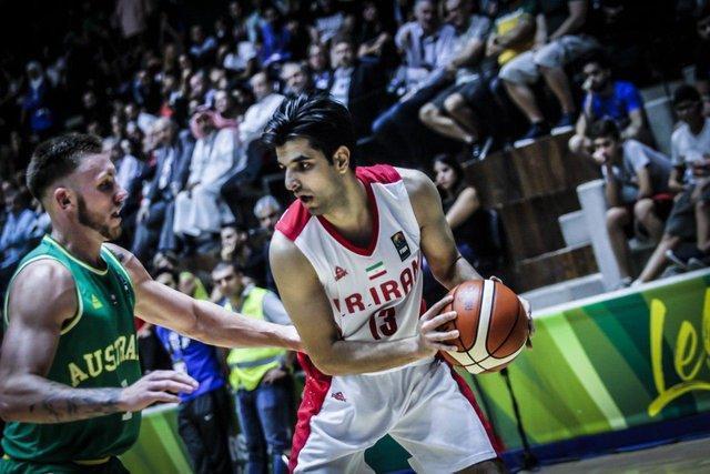 مصدومیت شدید محمد جمشیدی در بسکتبال سه نفره کاپ آسیا