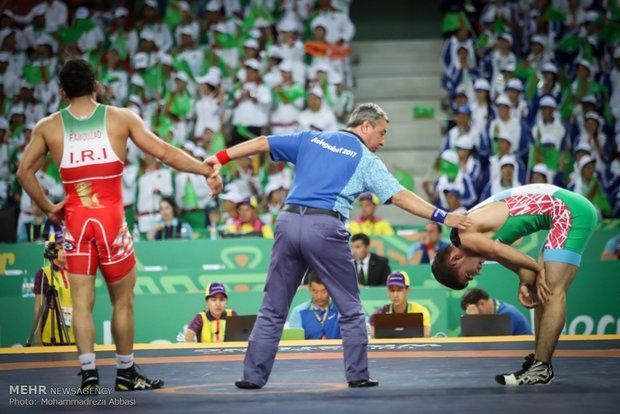 تیم ملی کشتی آزاد ایران قهرمان آسیا شد