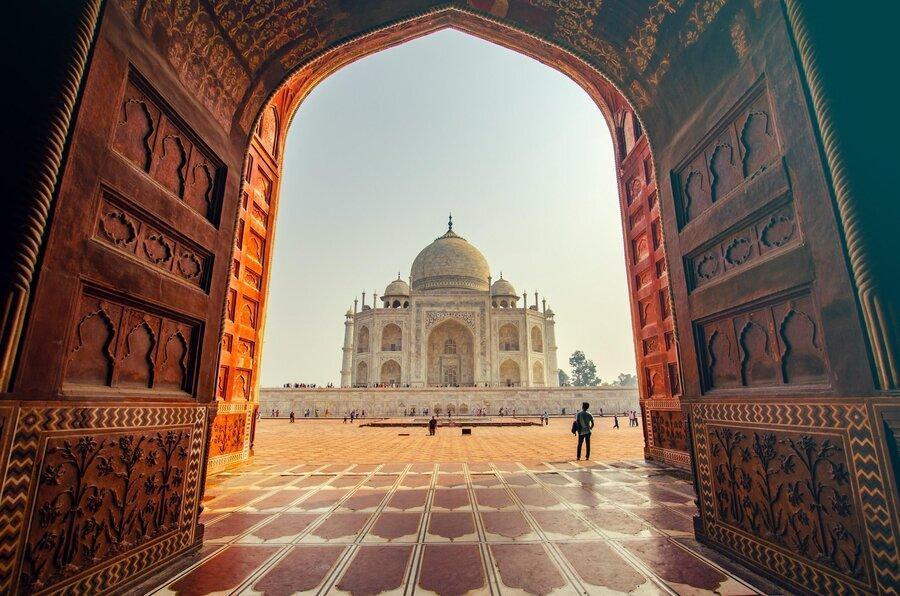 معرفی تاج محل: آگرا، هند