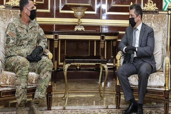 رایزنی بارزانی با مقام نظامی ارشد آمریکایی