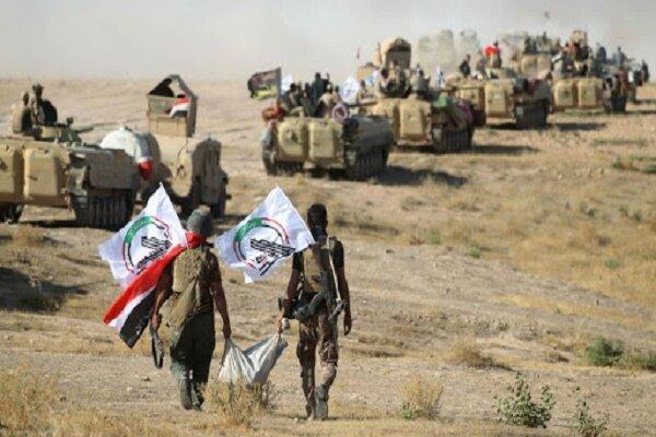 نیروهای حشد شعبی شماری از سرکردگان داعش را بازداشت کردند