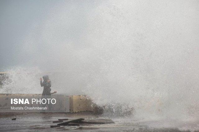 هشدار هواشناسی نسبت به تلاطم خلیج فارس و دریای عمان
