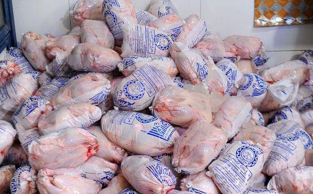 توزیع نامحدود مرغ منجمد 13500 تومانی شروع شد