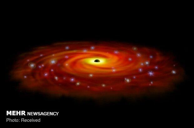 رصد سیاهچاله ای با بیشترین سرعت رشد در دنیا