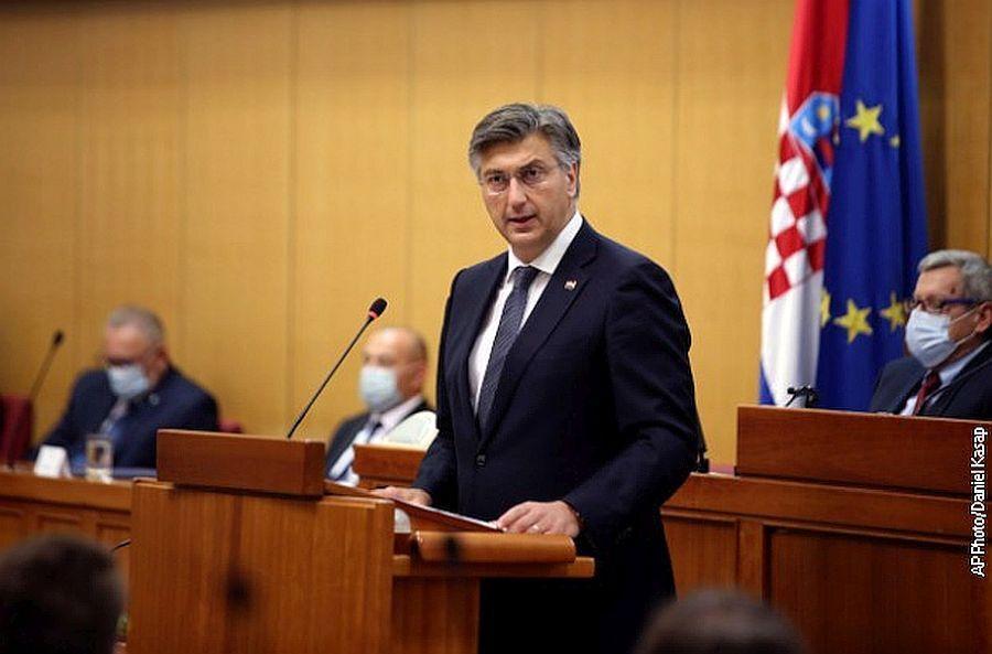 خبرنگاران دولت جدید کرواسی از مجلس رای اعتماد گرفت