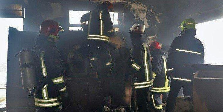 آتش سوزی در یک مرکز درمانی تهران ، بیماران جان سالم به در بردند