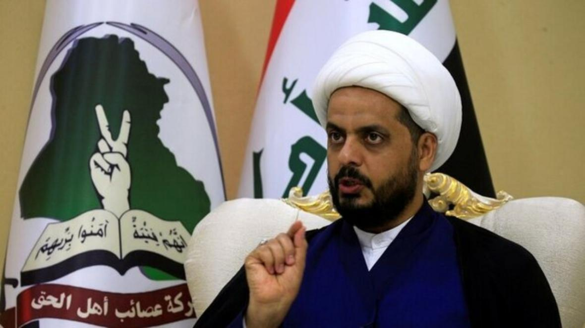 قیس الخزعلی: دولت ترامپ سودای چپاول ثروت نفتی عراق را در سر دارد
