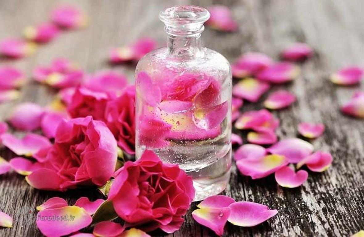 خواص جادویی گلاب!