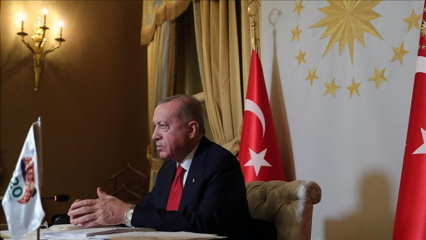 دفاع اردوغان از سیاست های ترکیه در قره باغ