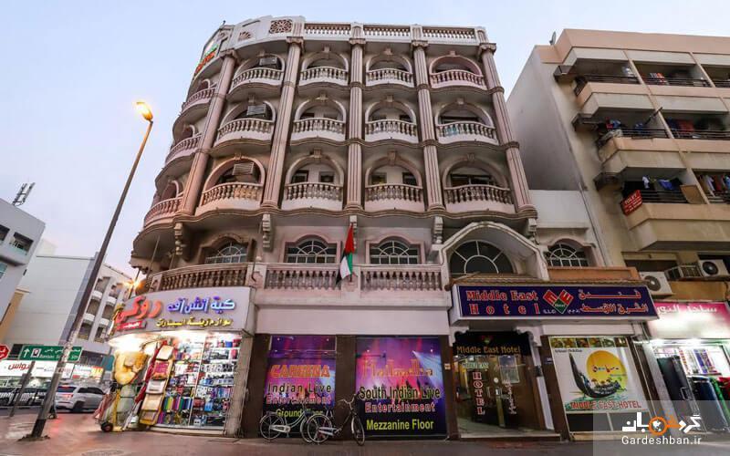 هتل میدل ایست دبی؛ هتل میان رده در دل مناطق تجاری، عکس
