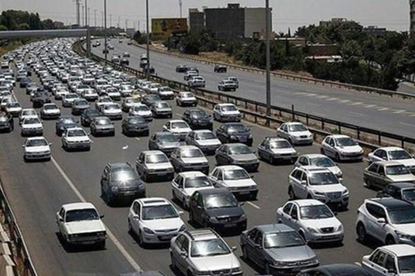 ترافیک سنگین در آزادراه تهران-قزوین، ترافیک نیمه سنگین در محور شهریار
