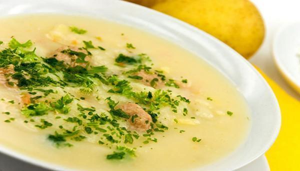 طرز تهیه سوپ قارچ و جو، پیش غذایی لذیذ