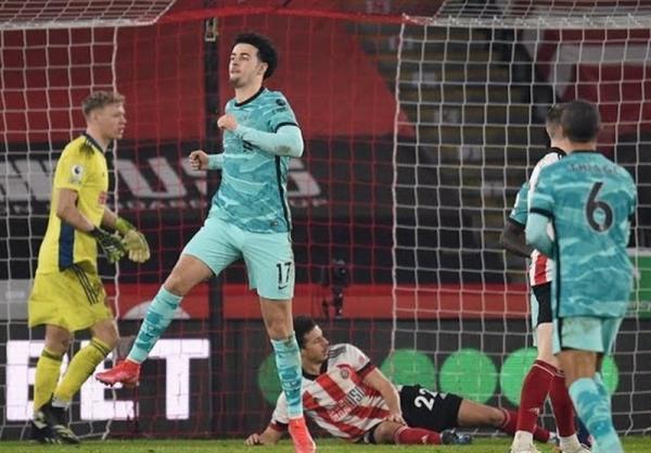 لیگ برتر انگلیس، لیورپول خاتمه با پیروزی آشتی کرد، برد شاگردان کلوپ در خانه شفیلدیونایتد
