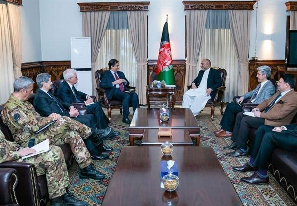 اتمر: طرح دولت افغانستان بهترین راه قانونی برای انتقال قدرت است
