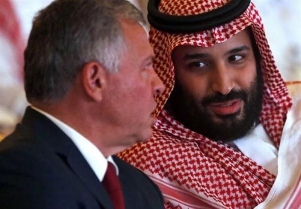 پیغام شدید اللحن پادشاهی اردن برای ولیعهد سعودی
