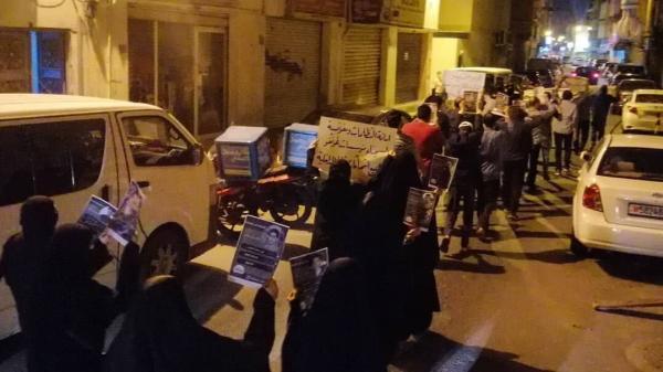 خبرنگاران تداوم اعتراضات مردم بحرین به بازداشت فعالان سیاسی