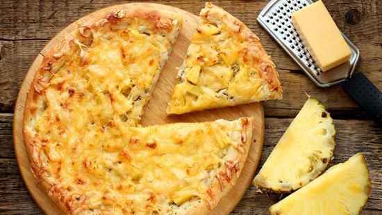 طرز تهیه پیتزا آناناس (پیتزا هاوایی) طعمی متفاوت و لذیذ