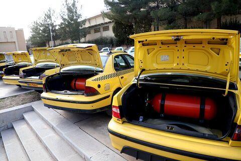 مصوبه نو دوگانه سوز کردن خودرو های عمومی